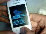 Samsung Galaxy Y S5360 hard reset
