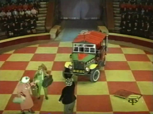 Клоун Олег Попов Машина 1972