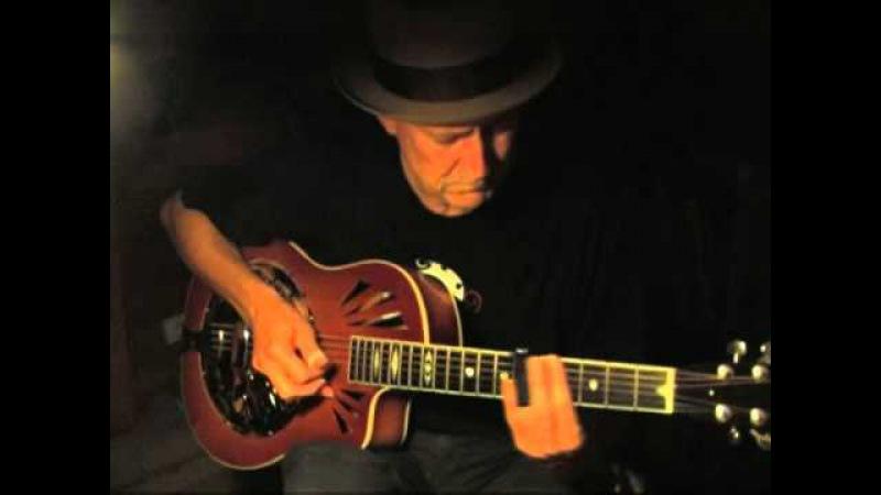 Delta Blues Slide Guitar Instrumental in Open G Blue Paloma