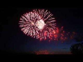 Шикарный фейерверк в честь Дня города привел в восторг хабаровчан