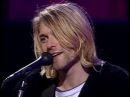 Kurt Cobain says Then why are you here? on LIVE AND LOUD
