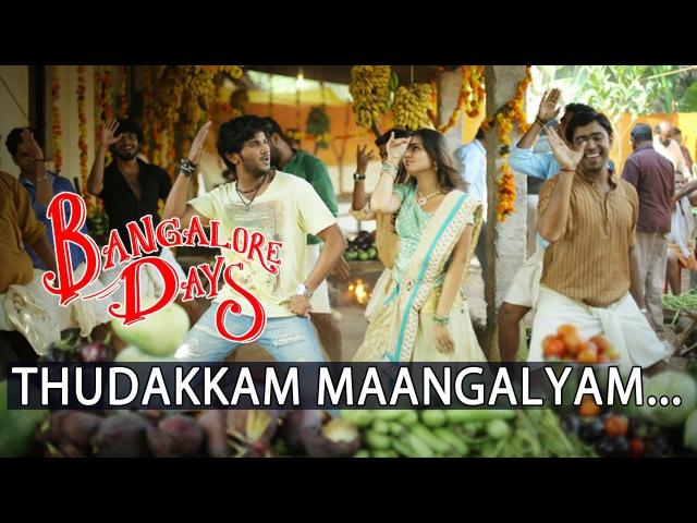 Bangalore Days Maangalyam Wedding Song DQ Nivin Nazriya