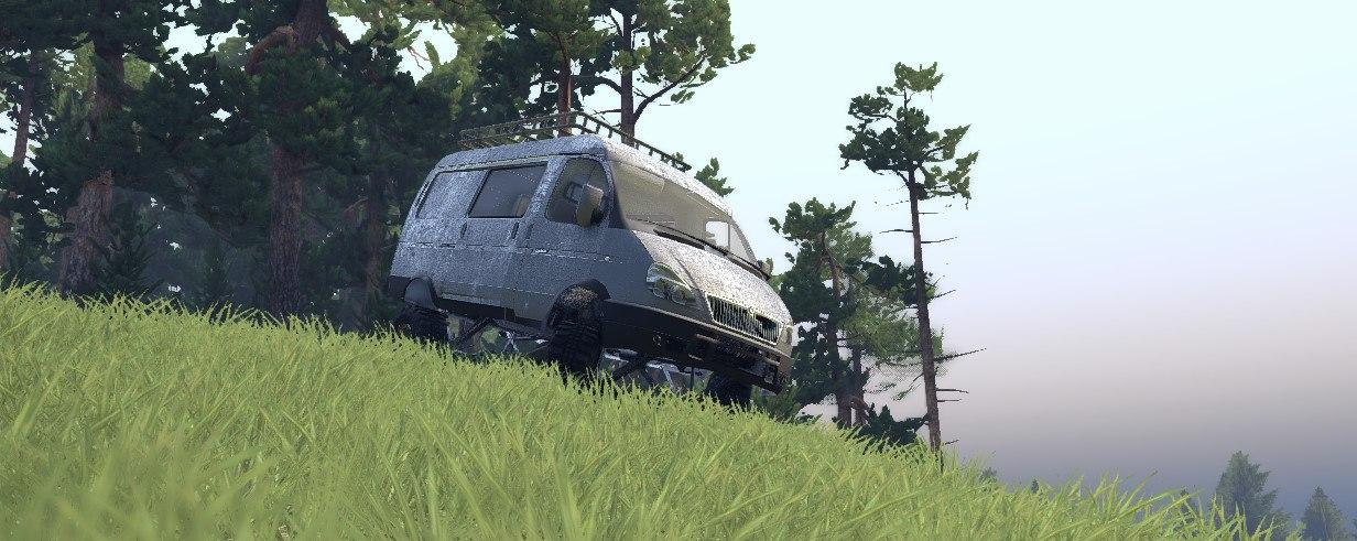 Газ Соболь для Spintires - Скриншот 1