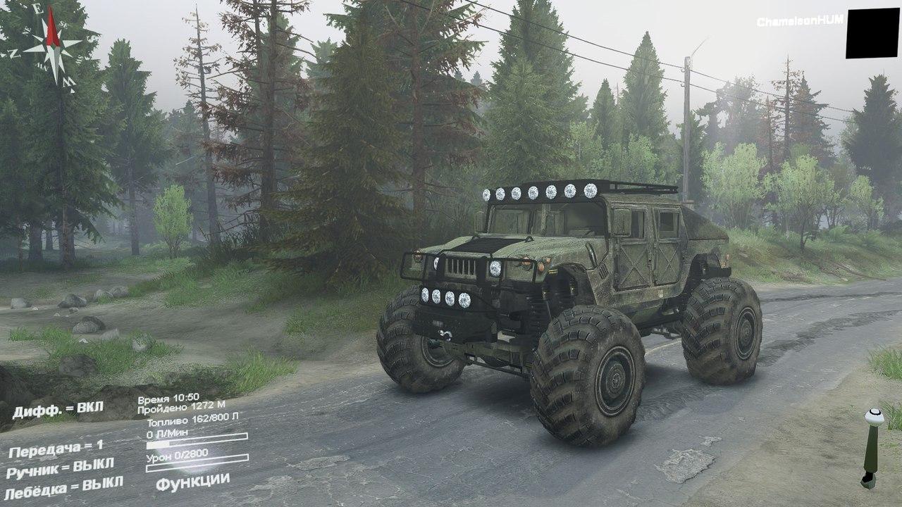 Модернизированный HMMWV для Spintires - Скриншот 1