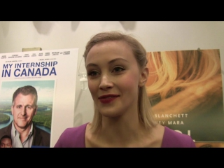 Sarah Gadon: Working with James Franco on miniseries was special