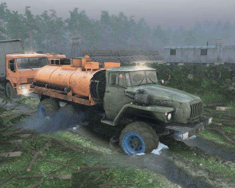 """Карта """"Разлив"""" v 1.4 Для Версии Игры 13.04.15 для Spintires - Скриншот 3"""