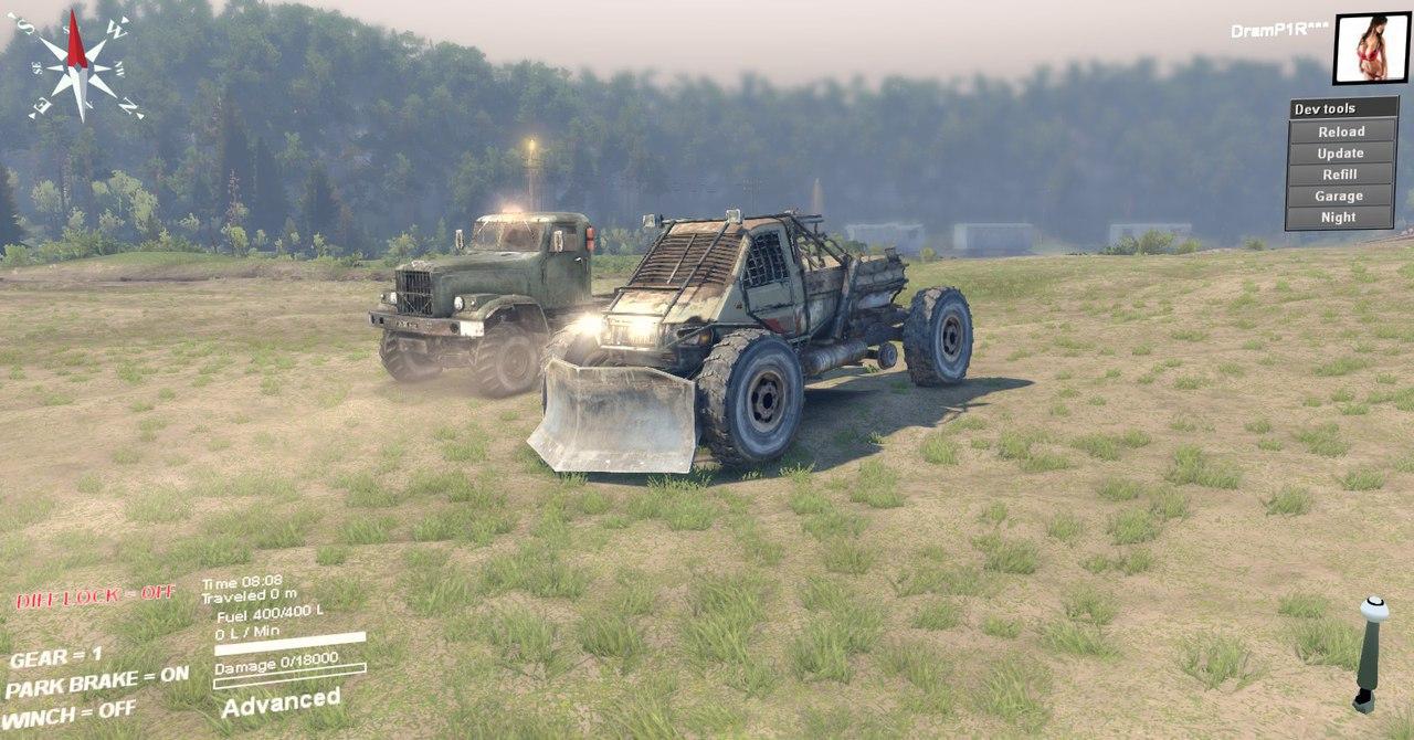 Машина из Метро 2033 для версии 22.07.15(Бета!) для Spintires - Скриншот 1