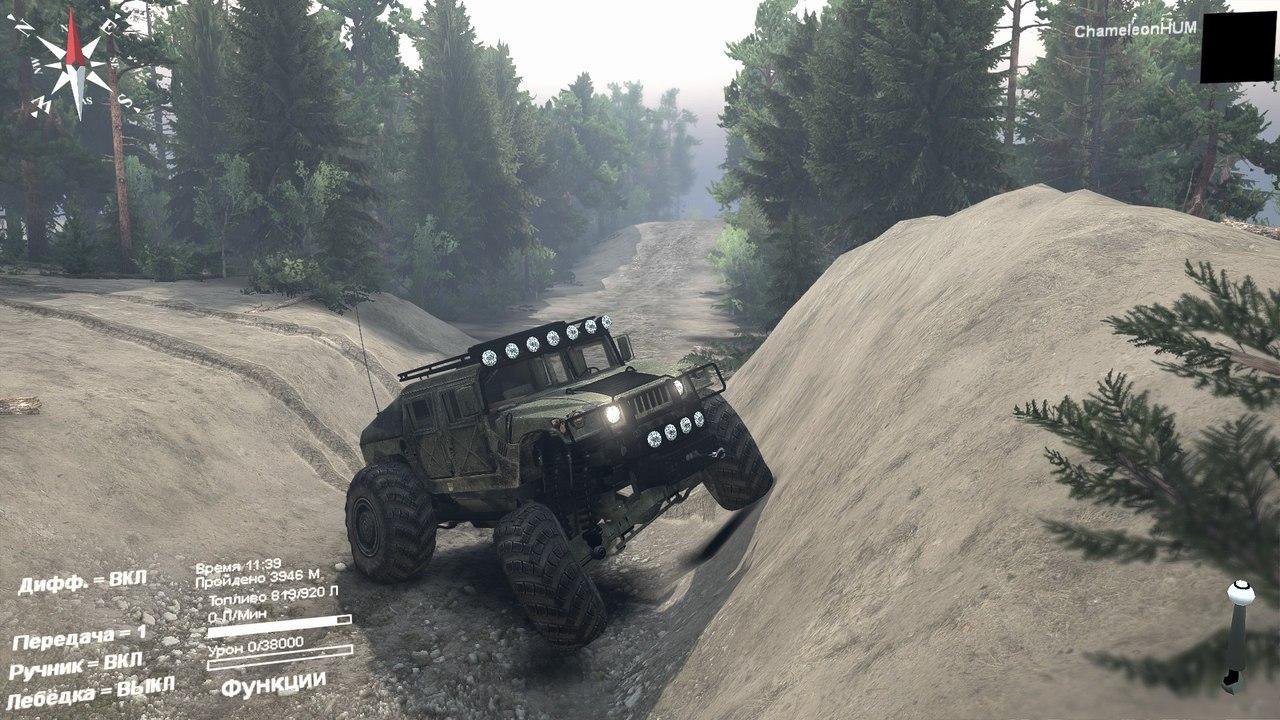 Модернизированный HMMWV для Spintires - Скриншот 2