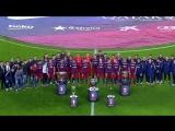 Презентация пяти трофеев Барселоны за 2015 год