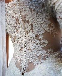 Ультра-модное и изящное свадебное платье