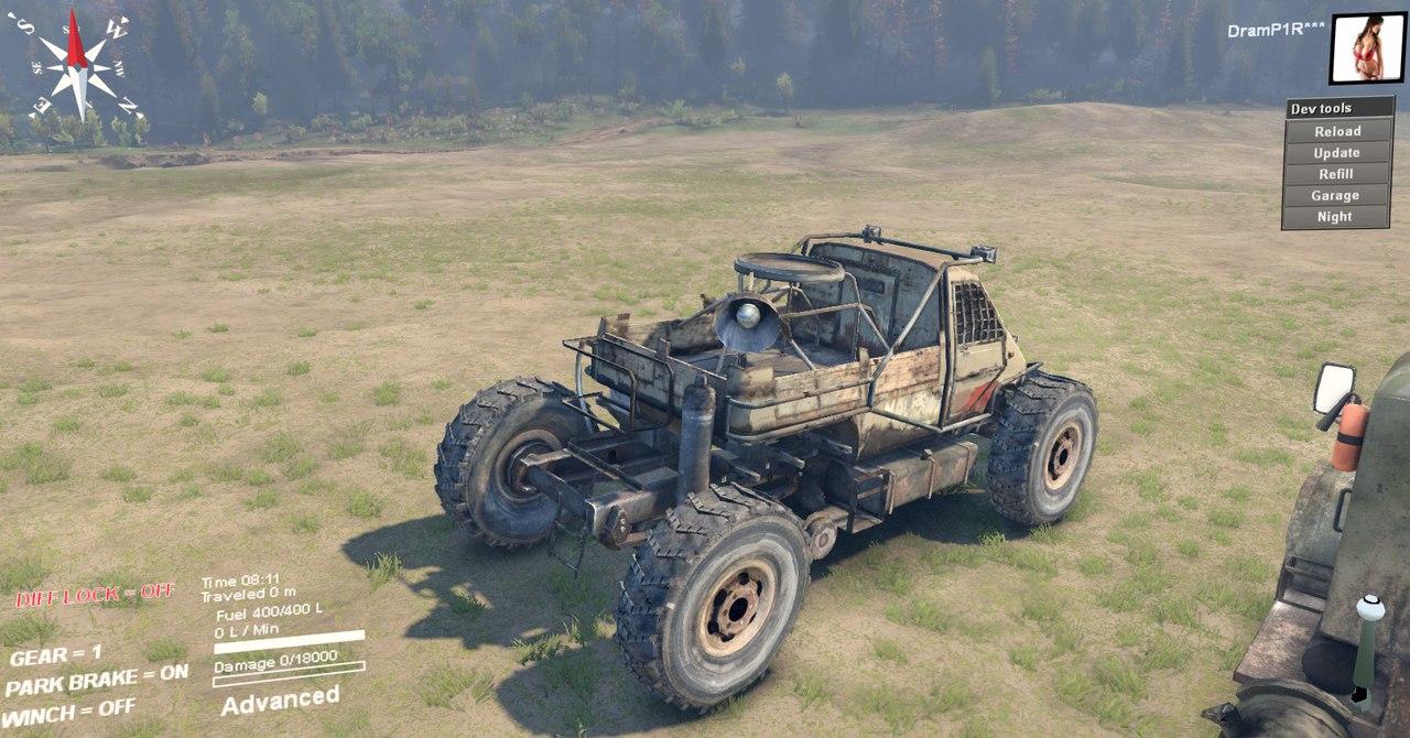 Машина из Метро 2033 для версии 22.07.15(Бета!) для Spintires - Скриншот 3