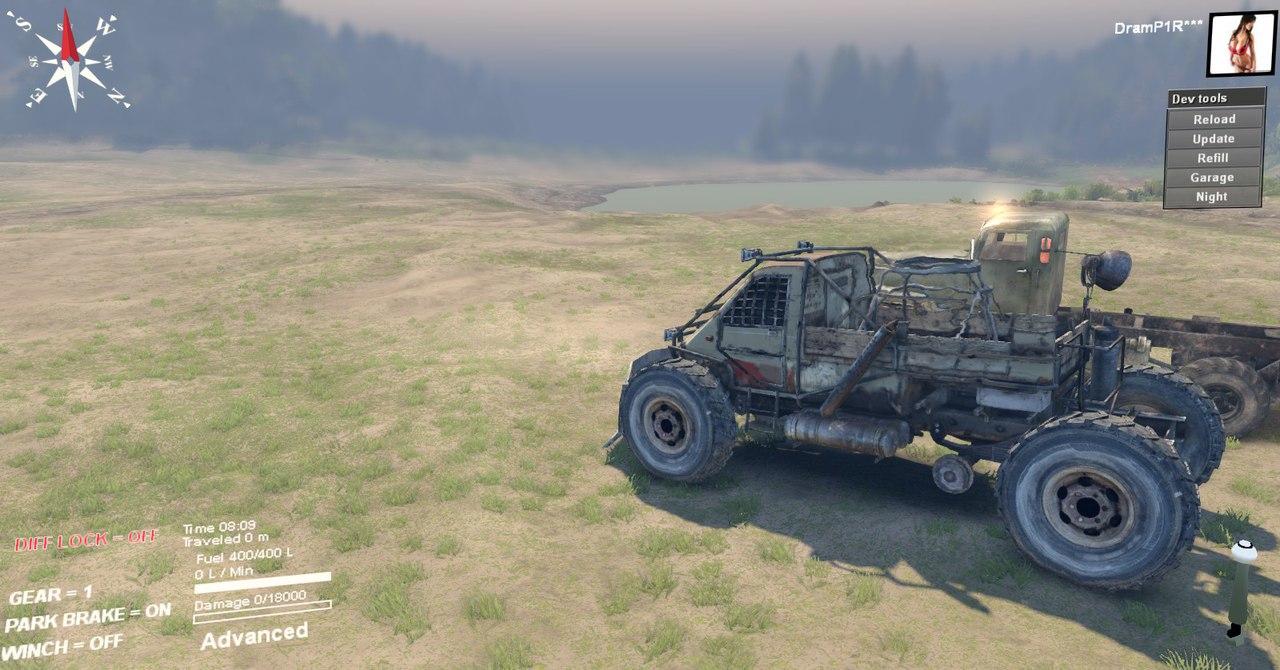 Машина из Метро 2033 для версии 22.07.15(Бета!) для Spintires - Скриншот 2