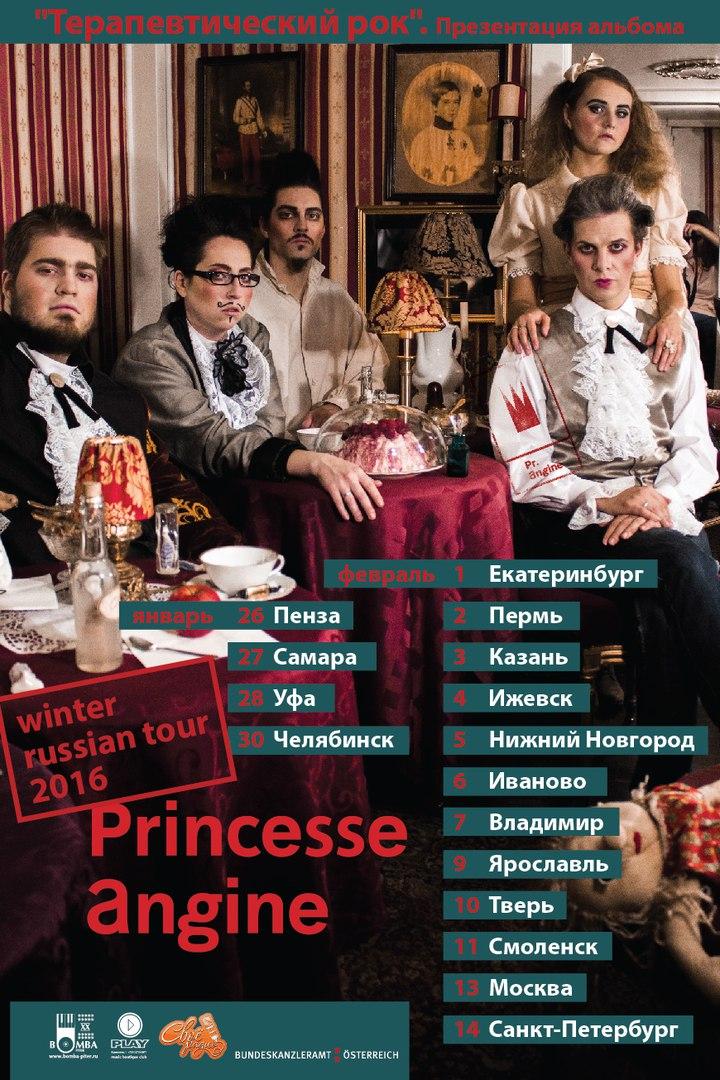 тур по россии princesse angine