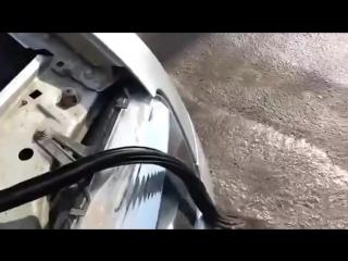 Рено Дастер Установка подкапотного уплотнителя от ВАЗа
