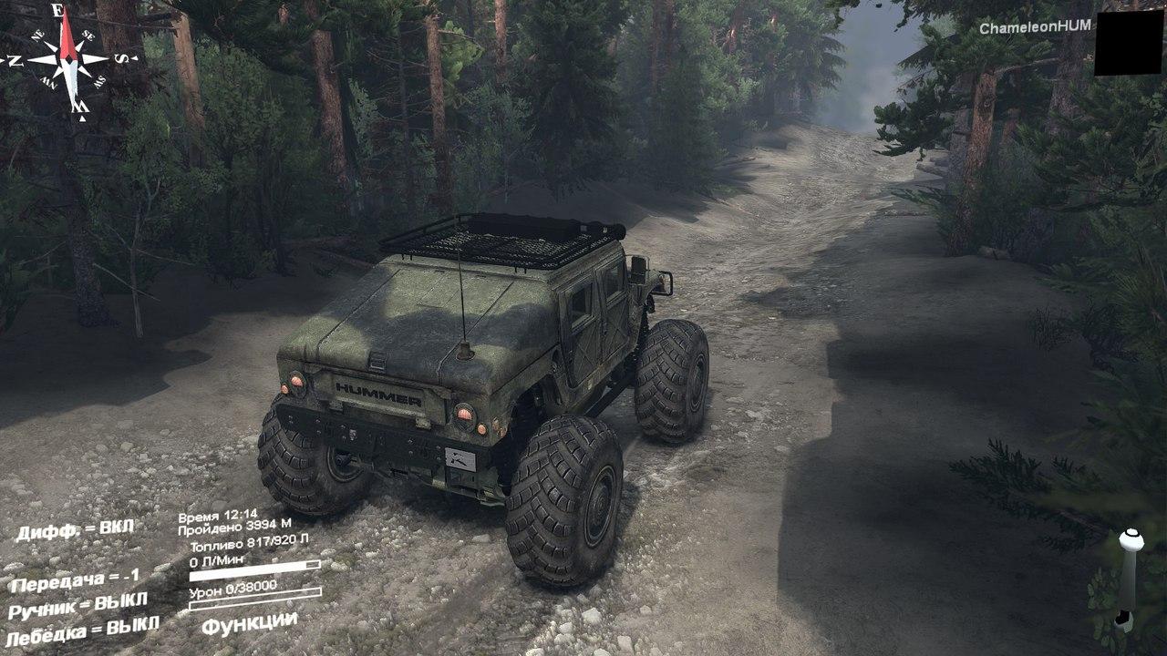 Модернизированный HMMWV для Spintires - Скриншот 3