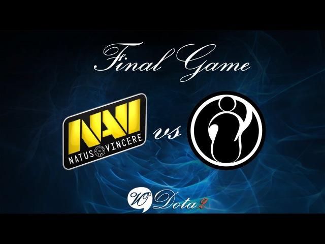 Na'Vi vs IG - Финальная 4 Игра (The International 2)Рус Комментарии