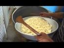 Как делают сыр сулугуни в Грузии, домашнее приготовление