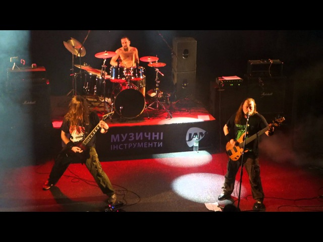 Fleshgore - Gorging On Mucus Bile (Pyaemia Cover) (Live at MonteRay Live Stage, 19.02.2016)