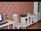 Мой кабинет с мебелью из ИКЕА.