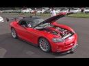1256HP Twin Turbo Dodge Viper SRT10 Revs Acceleration