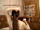 Прическа 2 со шпильками для волос, с палочками, основная петля