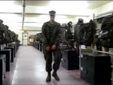 Marines Meet Lady Gaga Music and Dance
