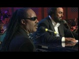 Pavarotti &amp Stevie Wonder Peace Wanted Just To Be Free HQ