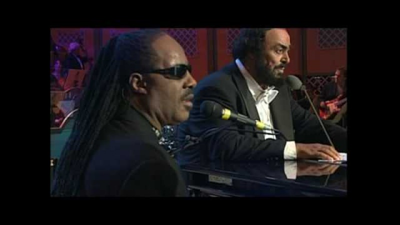 Pavarotti Stevie Wonder Peace Wanted Just To Be Free HQ