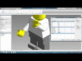 Revit tips - How to make a lego figure walk