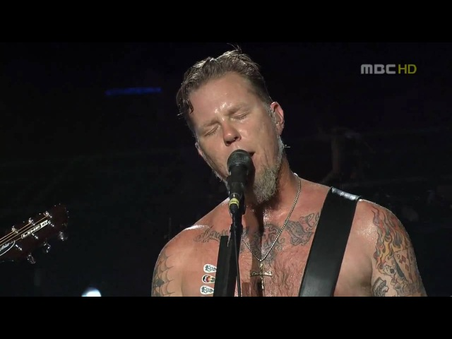 LIVE | HD | Metallica - The Unforgiven @ Seoul 2006