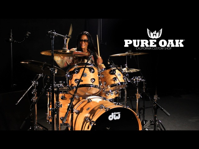 Introducing DW Collector's Series Pure Oak Drums featuring Sheila E.