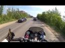 Захватывающая погоня ДПС за мотоциклистом