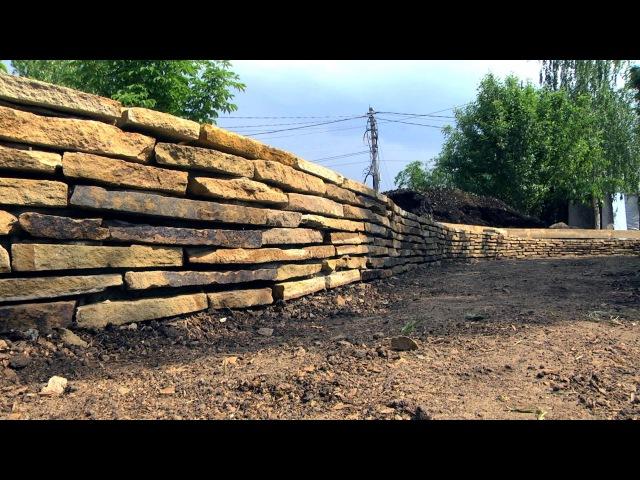 Подпорные стенки в ландшафтном дизайне FORUMHOUSE