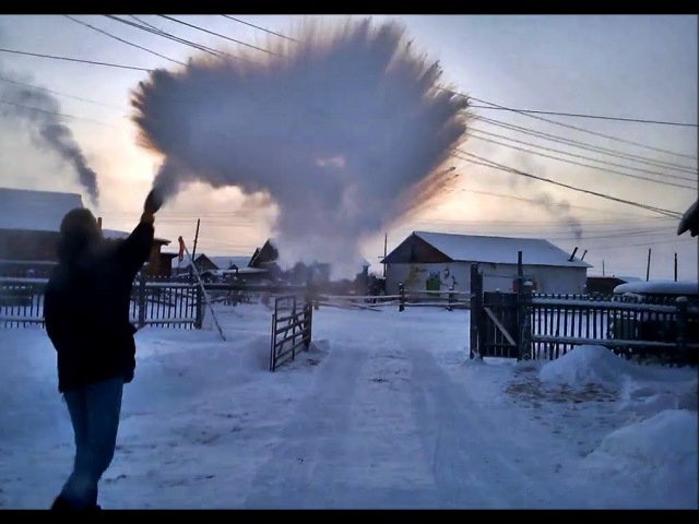 -56°C (-69°F) from Yakutsk to Oymyakon in winter - THE MOVIE [HD] 2015