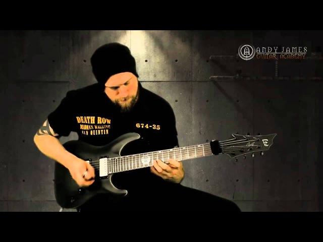 Andy James 'Mr Mayhem' Solo - Ultimate Metal Improvisation Vol 1