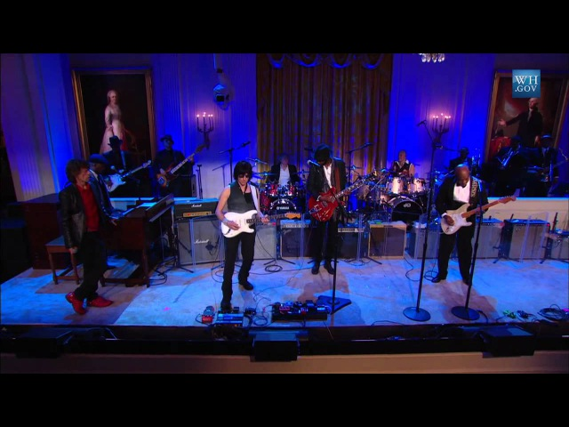 Buddy Guy, Mick Jagger, Gary Clark Jr., and Jeff Beck Perform Five Long Years