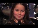 Милая девочка взорвала шоу Америка ищет таланты