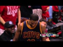 Tristan Thompson Block Kent Bazemore Cavaliers vs Hawks Game 2 May 22, 2015 NBA Playoffs