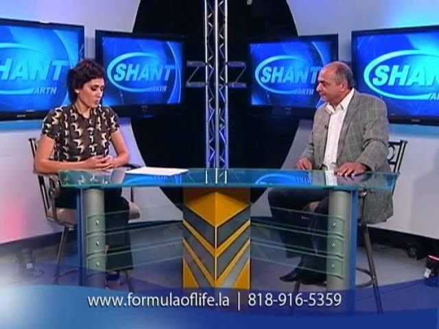 Gregori Formula of Life TV Show on ARTN Shant