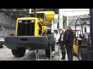 Обзор БудТех 2014. Новые коммерческие автомобили, строительная и коммунальная техника.