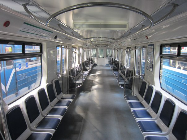 метро, вагон метро