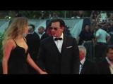 Эмбер и Джонни на премьере фильма «Черная месса» на 72-м Венецианском кинофестив