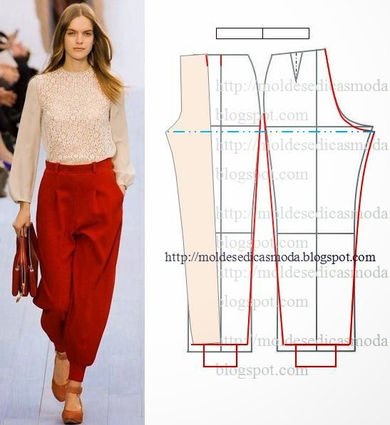 Моделируем брюки (6 фото) - картинка