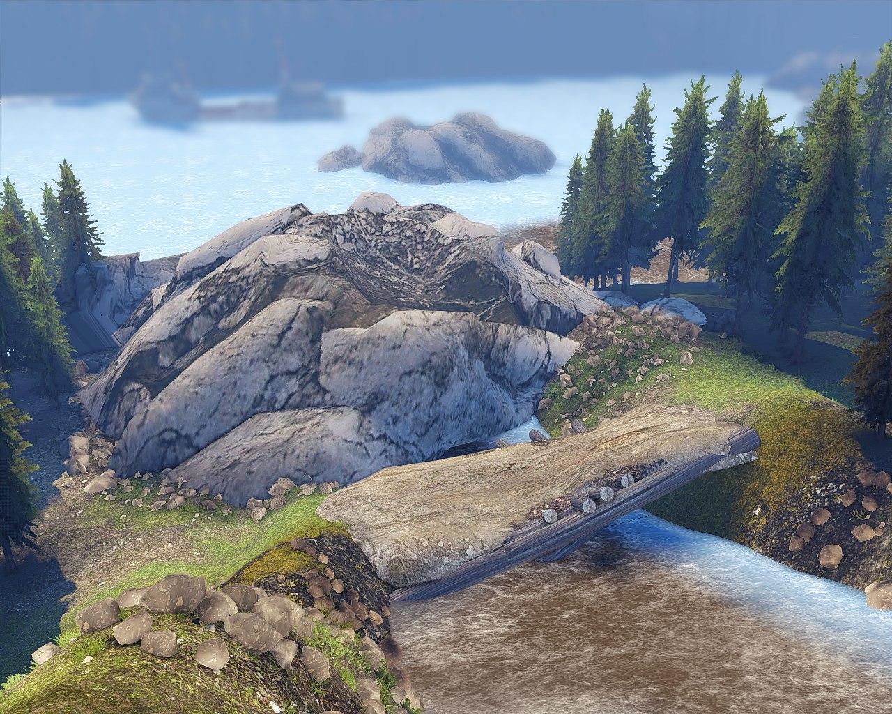 """Карта """"Пересечение"""" (13.04.15.) для Spintires - Скриншот 1"""