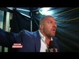 Triple H gives a stern warning to Dean Ambrose- WWE.com Exclusive, May 31, 2015