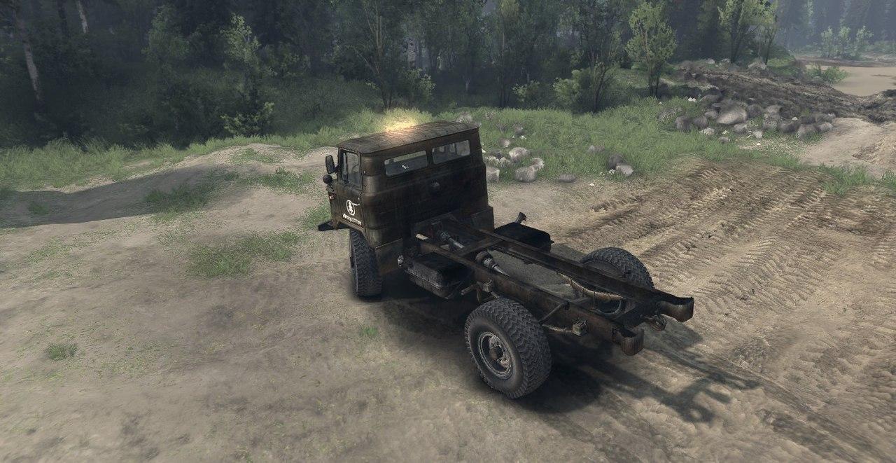 Мод ГАЗ 66 Дизель для Spin Tires 2015. для Spintires - Скриншот 1