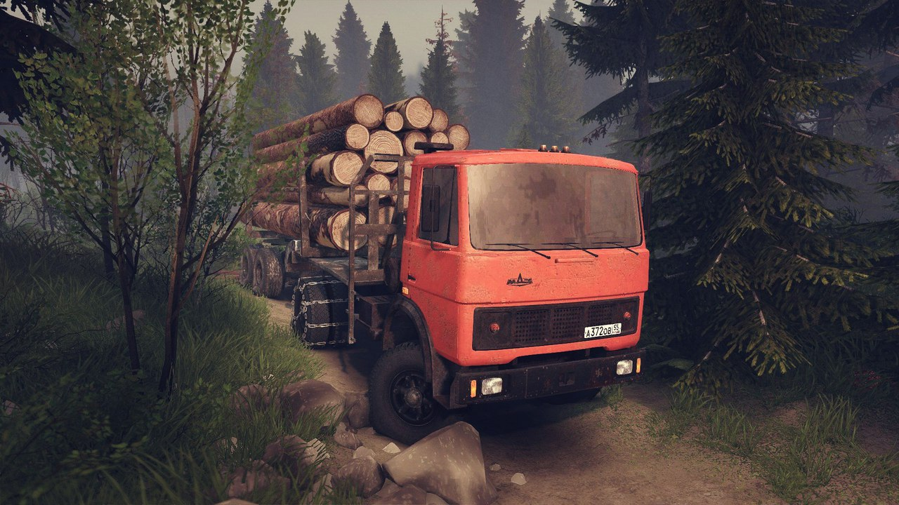 МАЗ-5337 для версии 13.04.15 для Spintires - Скриншот 3
