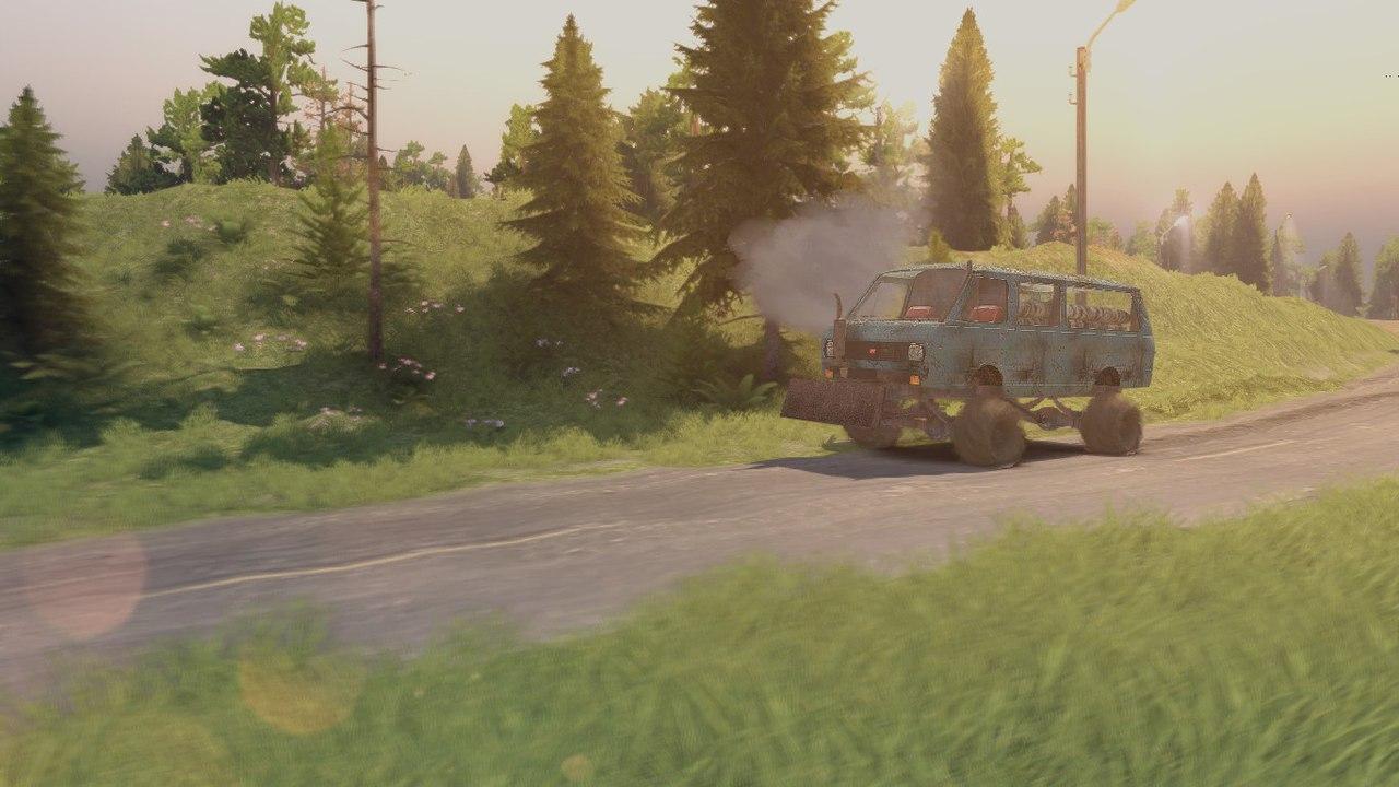 """РАФ-2203 """"Леший"""" для Spintires - Скриншот 3"""