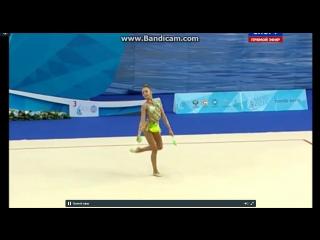 Дина Аверина - булавы (многоборье) // Кубок Мира в Казани