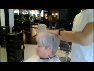 Kenneth Siu's Haircut - Texturizing technique for short hair